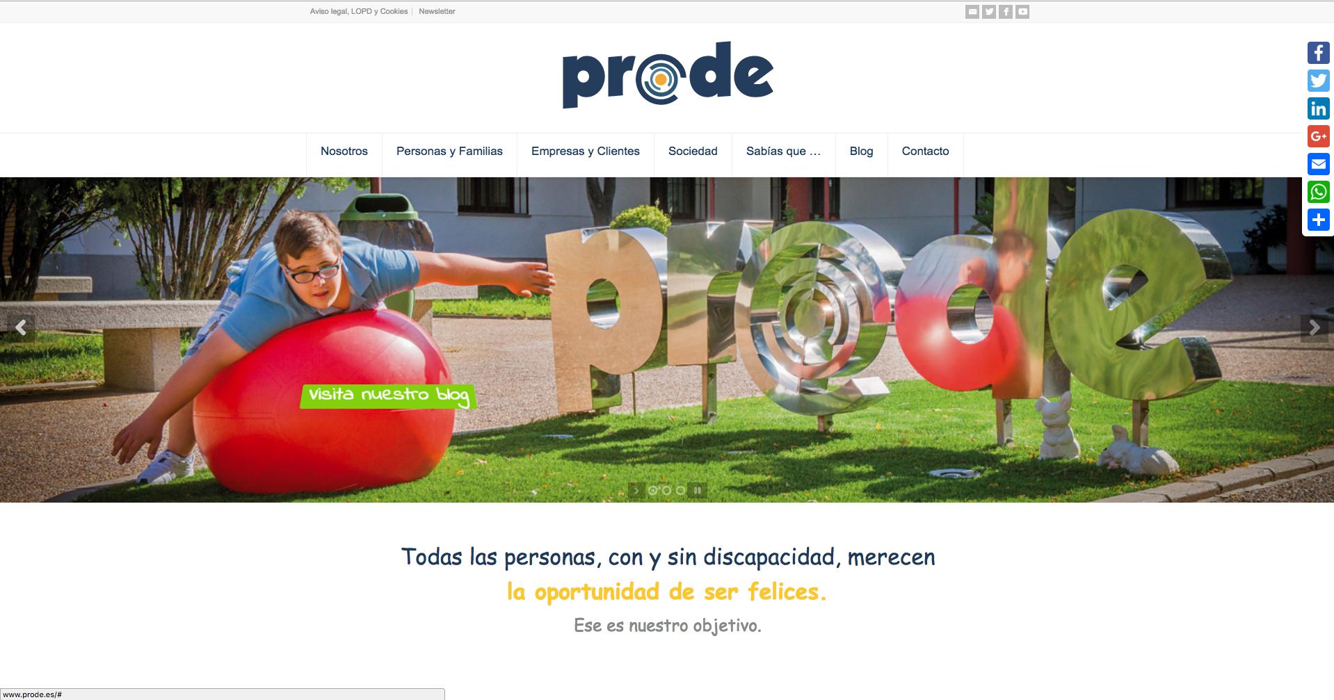 Ya Está Disponible La Nueva Web De PRODE